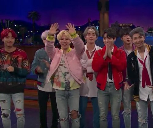 BTS performs 'DNA' on 'Late Late Show with James Corden'