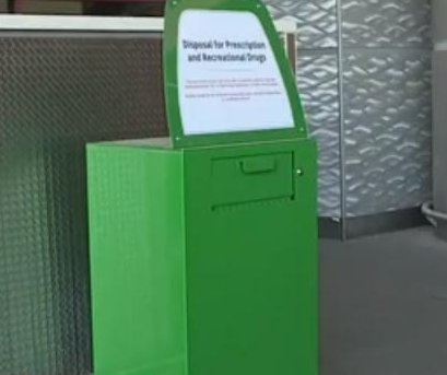 Las Vegas airport installs marijuana disposal boxes