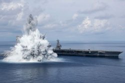 USS Gerald R. Ford successfully completes Full Ship Shock Trials