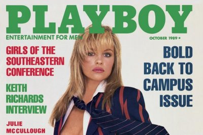 Pamela Anderson's Playboy covers