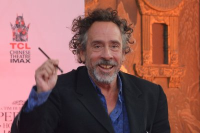 Tim Burton honored at Hollywood handprint ceremony