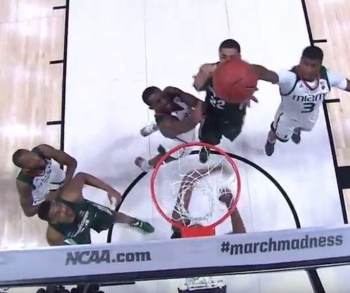 NCAA: Michigan State drills Miami