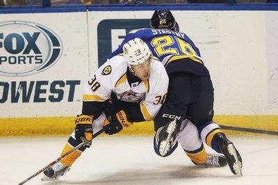 NHL: Nashville Predators sign Viktor Arvidsson to seven-year deal