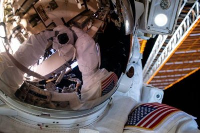 NASA concludes second spacewalk on historic mission