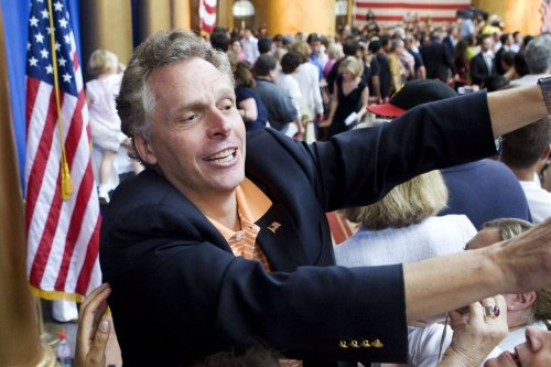 McAuliffe trailing Deeds in Va. gov. race
