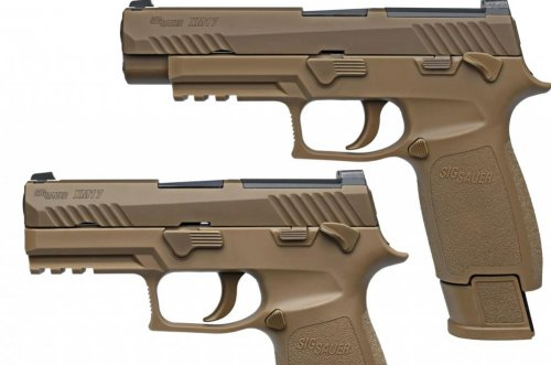 Army plans November fielding of new Sig Sauer pistol
