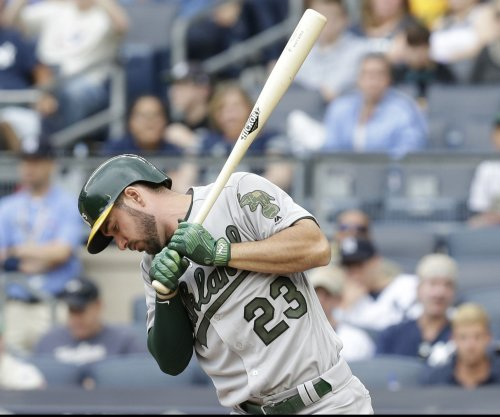 MLB notebook: Oakland Athletics OF Matt Joyce suspended