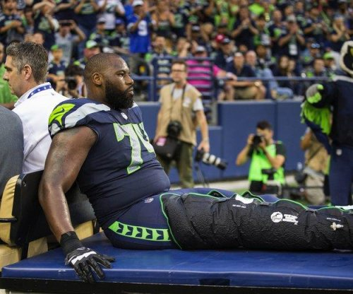 Seattle Seahawks lose LT George Fant (knee) for the season due to torn ACL
