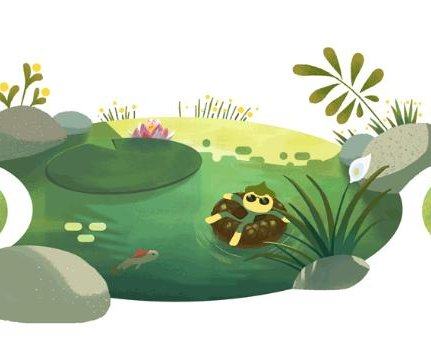 Google welcomes the summer solstice in new Doodle