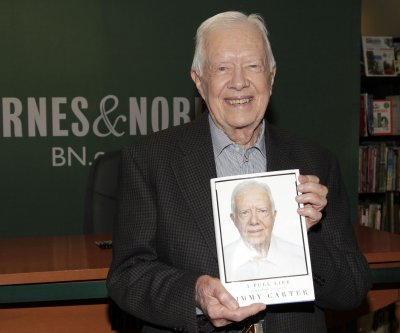 Jimmy Carter hospitalized after second fall in month
