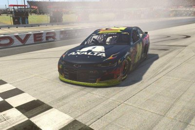 William Byron wins at virtual Dover for third eNASCAR iRacing victory