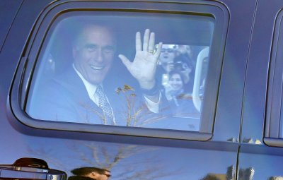 Romney portrait joins gallery of also-rans
