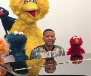 John Legend and 'Sesame Street' send love to baby Luna