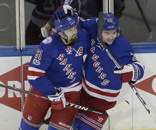 New York Rangers get back in series with dominating win vs. Ottawa Sens