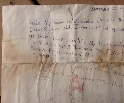 South Carolina woman's message in a bottle found 29 years later in Georgia