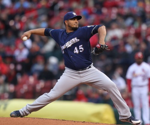Brewers host Pirates with Chacin starting in place of Davies