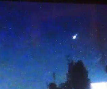 Fireball lights up night sky over North Carolina