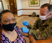 Pentagon authorizes more personnel for U.S. COVID-19 vaccinations