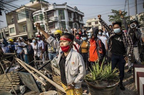 Myanmar leads global plunge in digital freedom, report says