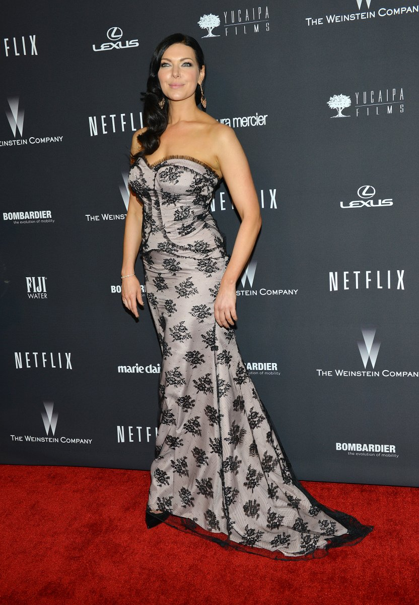 Laura Prepon spotted at dress fitting at Bergdorf Goodman - UPI.com