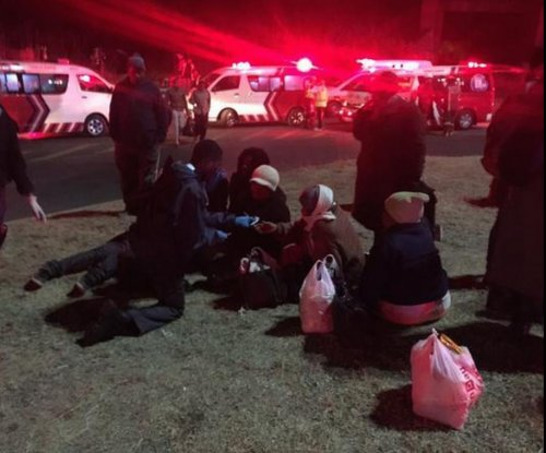 300 injured in South African train collision