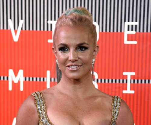 Britney Spears 'working hard' on new album