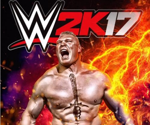 Brock Lesnar announced as cover star for 'WWE 2K17'