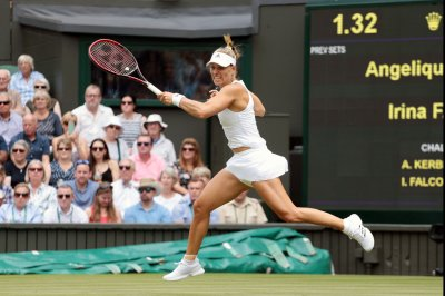 2017 Wimbledon: No. 1 Anglique Kerber rallies to hold off Shelby Rogers