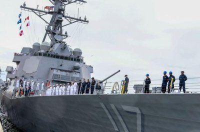 Navy destroyer USS Paul Ignatius to be commissioned on Saturday