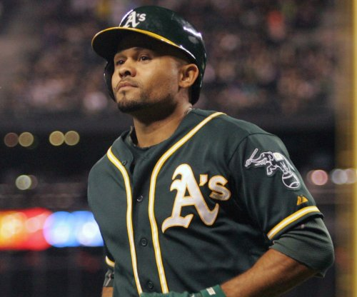 Oakland Athletics' OF Crisp has elbow surgery