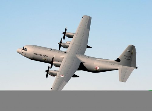 Lockheed Martin delivers second C-130J to Tunisia
