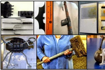 TSA seizes record number of weapons in carry-on bags