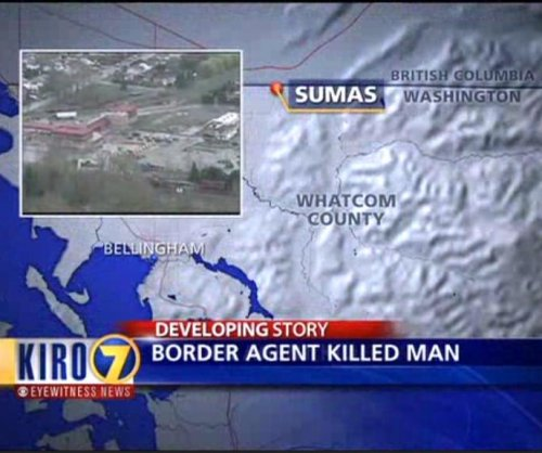 Border Patrol kills man at Canadian border