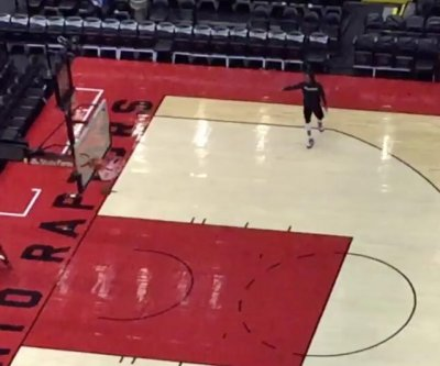 Kyle Lowry closes down gym after poor performance