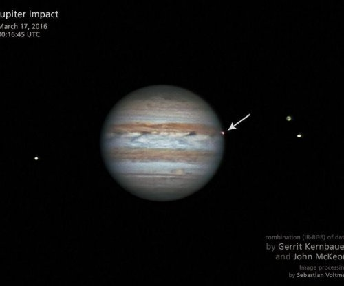 Study: Jupiter blasted by an average of 6.5 fireballs each year