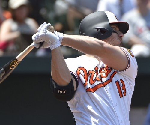 Baltimore Orioles place first baseman Chris Davis (oblique) on disabled list