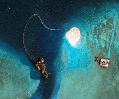 China adds four new missile shelters on South China Sea islands