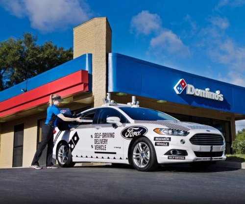 Ford, Domino's team up to deliver pizzas with self-driving cars