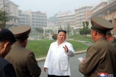 Kim Jong Un tours new North Korean 'socialist' spa resort