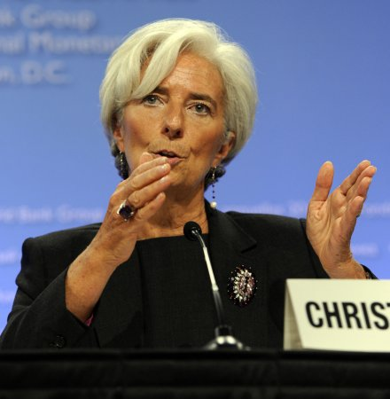 Lagarde calls for larger bailout fund