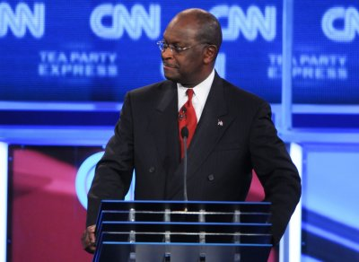 Herman Cain rises as others tumble