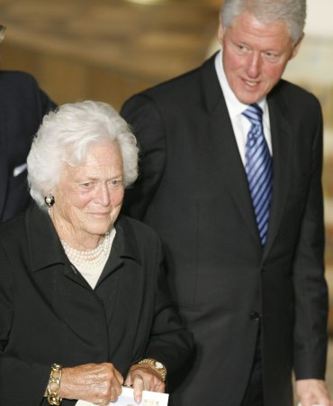 Barbara Bush discharged after hospital stay