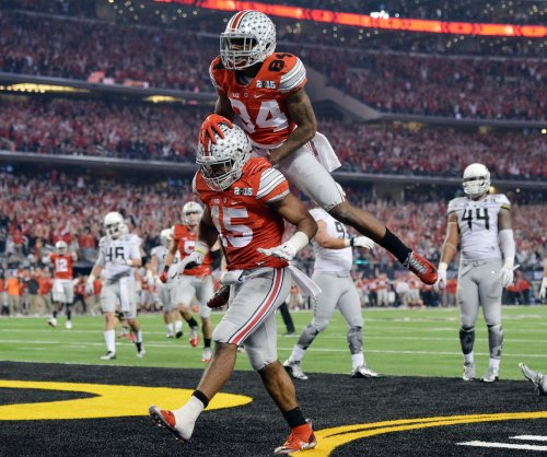 Ohio State upsets Oregon in CFP title game