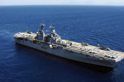 Search underway for Marine reported overboard near Philippines