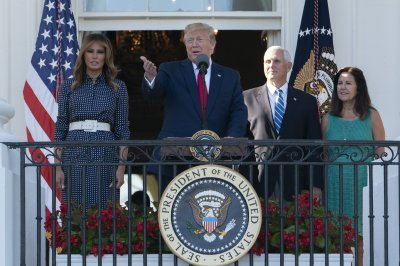 Trumps host congressional picnic, complete with ferris wheel