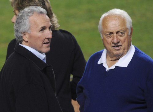 Dodgers owner, wife, separate