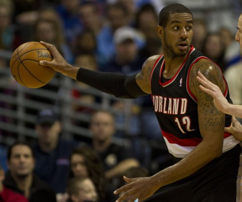 LaMarcus Aldridge, Portland Trail Blazers edge Miami Heat