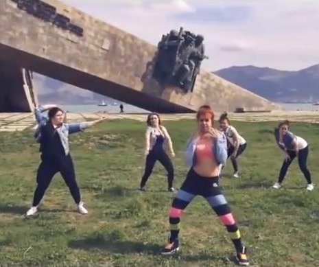 Russia jails women in 'twerking' video at WWII memorial