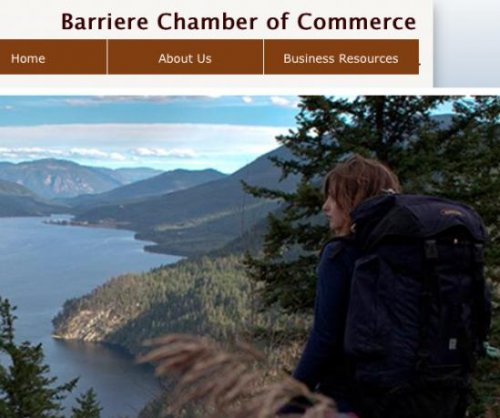Porn site holds Barriere Chamber of Commerce domain hostage
