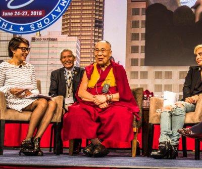 Dalai Lama, Lady Gaga get together for chat